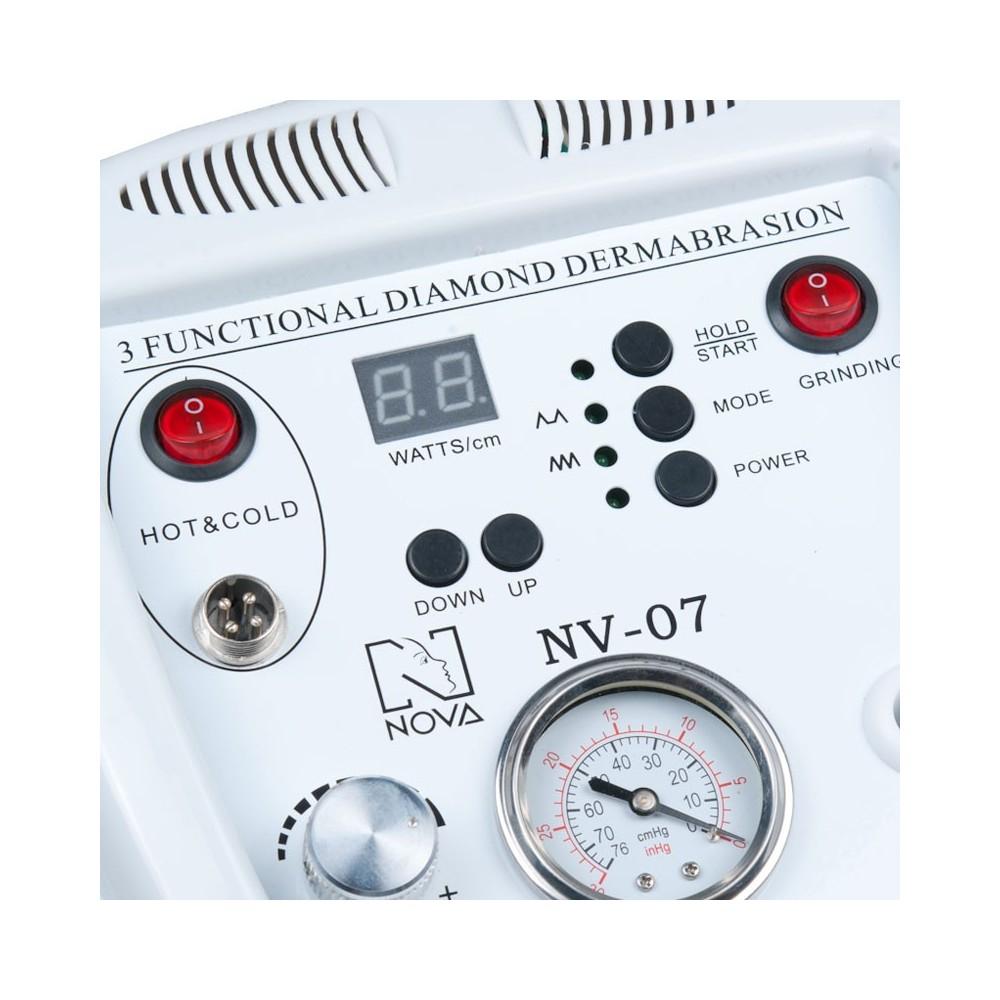 BN-07 3w1 Mikrodermabrazja, Ultradźwięki, Hot-Cold
