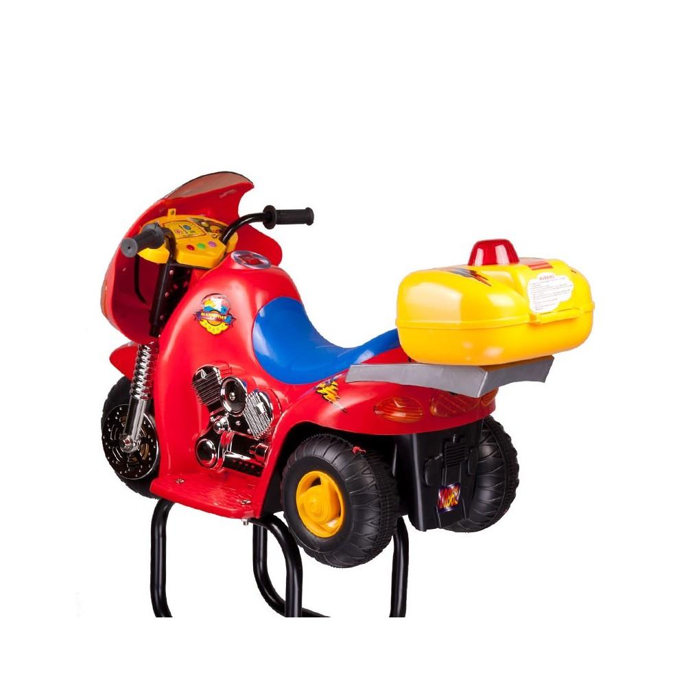 BW-604 Dziecięcy fotel fryzjerski Czerwony