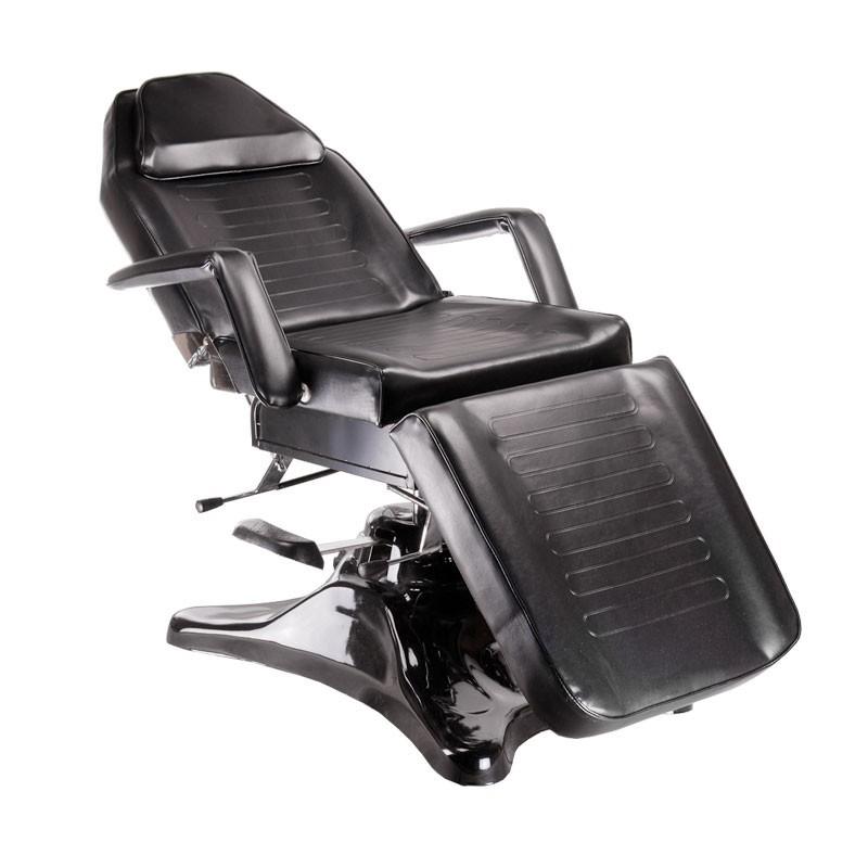 BD-8222 Hydrauliczny fotel kosmetyczny Czarny