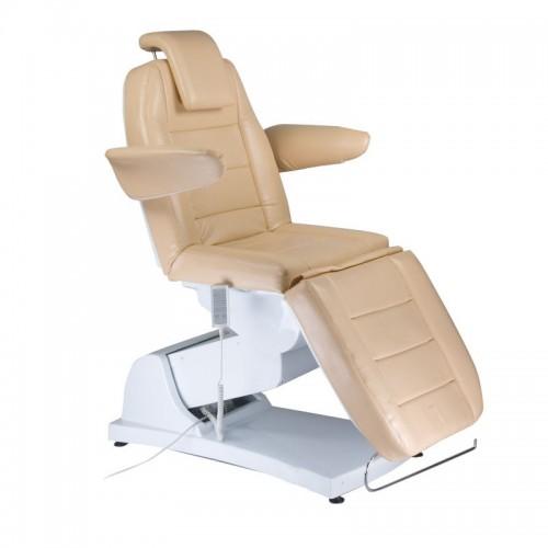 Bologna BG-228 Beż Elektryczny fotel kosmetyczny