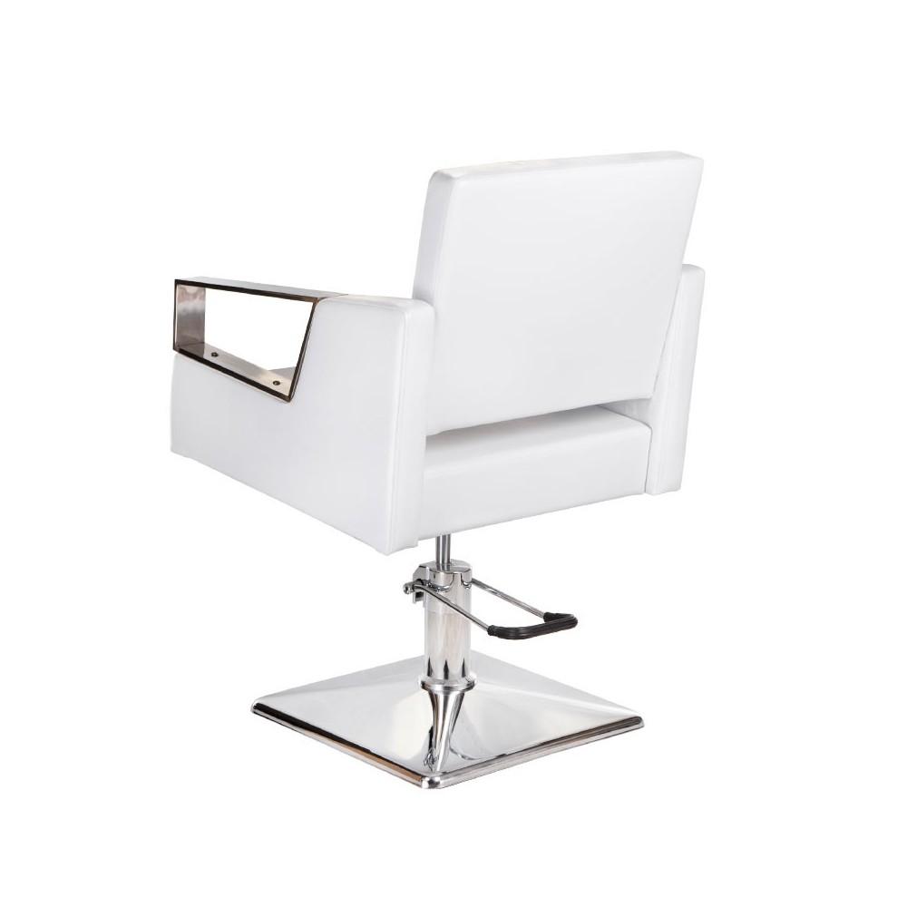 BR-3936A Fotel fryzjerski ARTURO Biały
