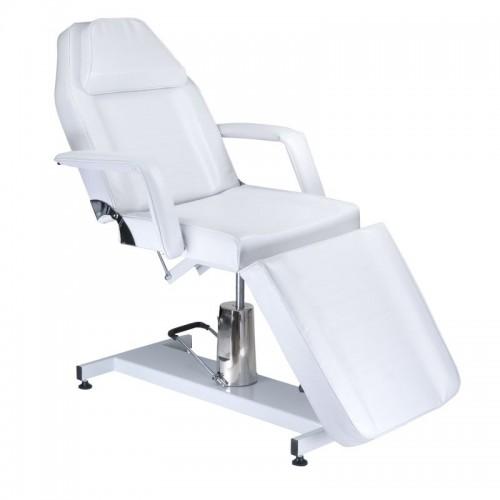 BW-210 Hydrauliczny fotel kosmetyczny Biały