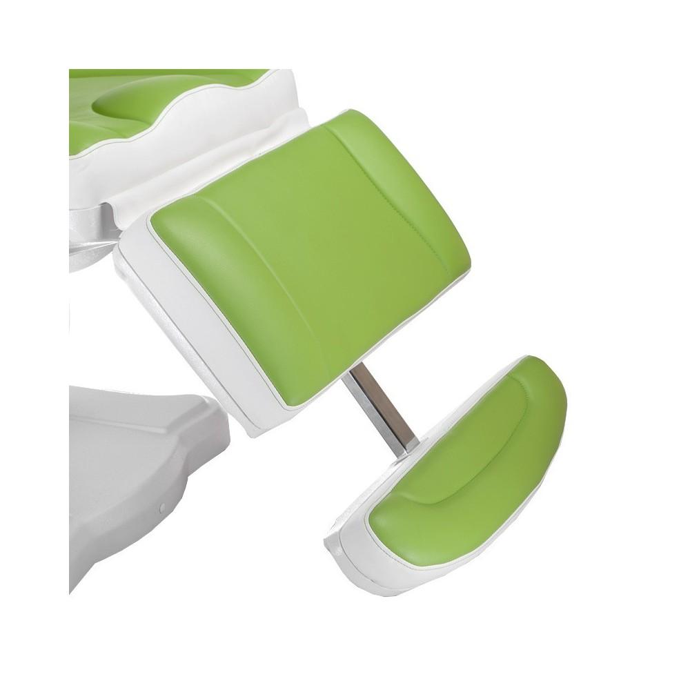 Mazaro BR-6672 Elektryczny fotel kosmetyczny Zielony