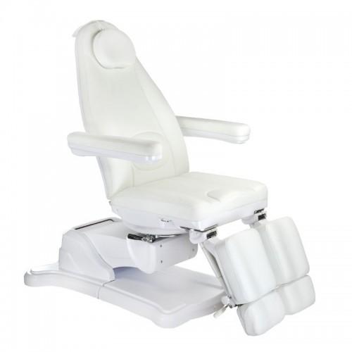 Mazaro BR-6672C Elektryczny fotel kosmetyczny Biały