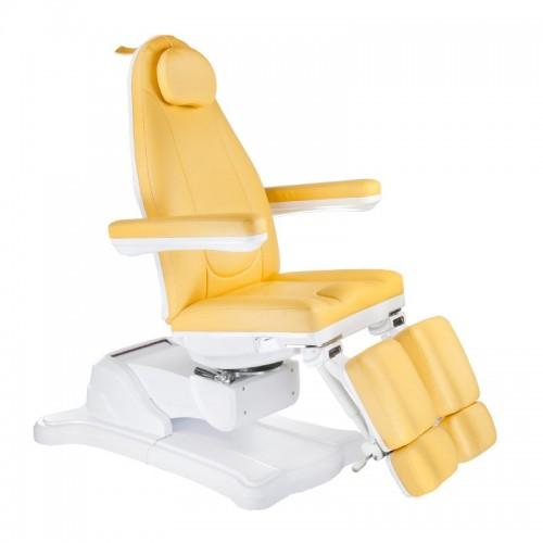 Mazaro BR-6672C Elektryczny fotel kosmetyczny Miodowy
