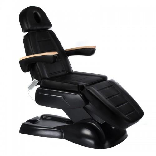 LUX BW-273B Czarny Elektryczny fotel kosmetyczny