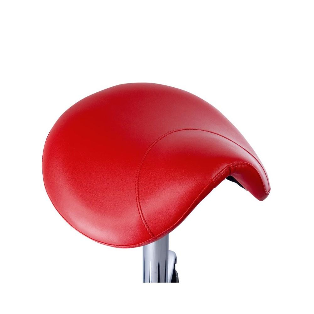 BD-9909 Taboret RODEO Czerwony