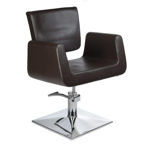 Fotel fryzjerski Vito Brązowy