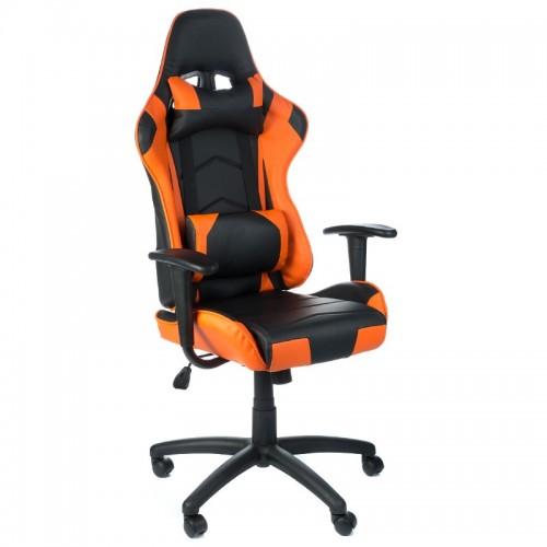 Fotel biurowy RACER BX-3700 Pomarańczowy