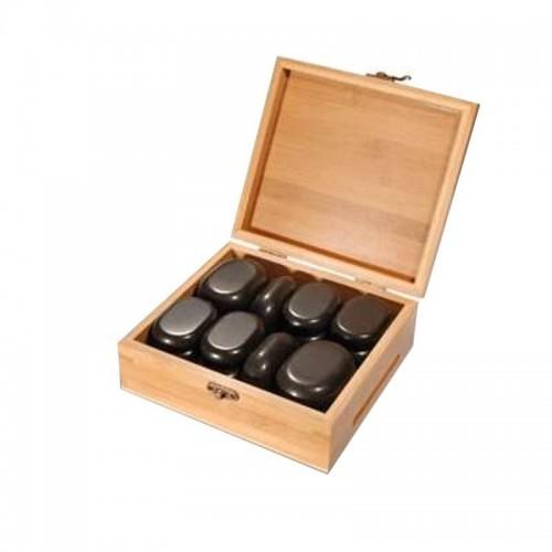 Kamienie do masażu - zestaw kamieni 22szt