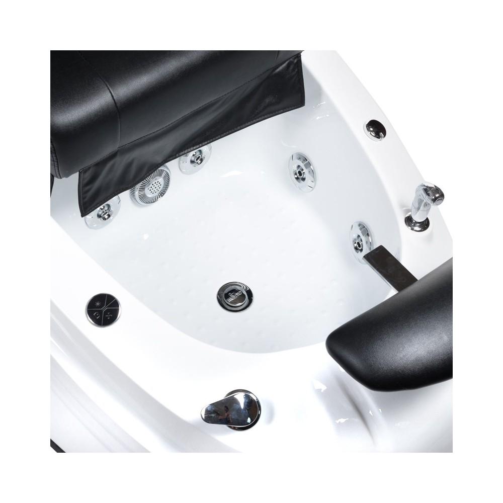 Fotel do pedicure z masażem BR-2307 Czarny