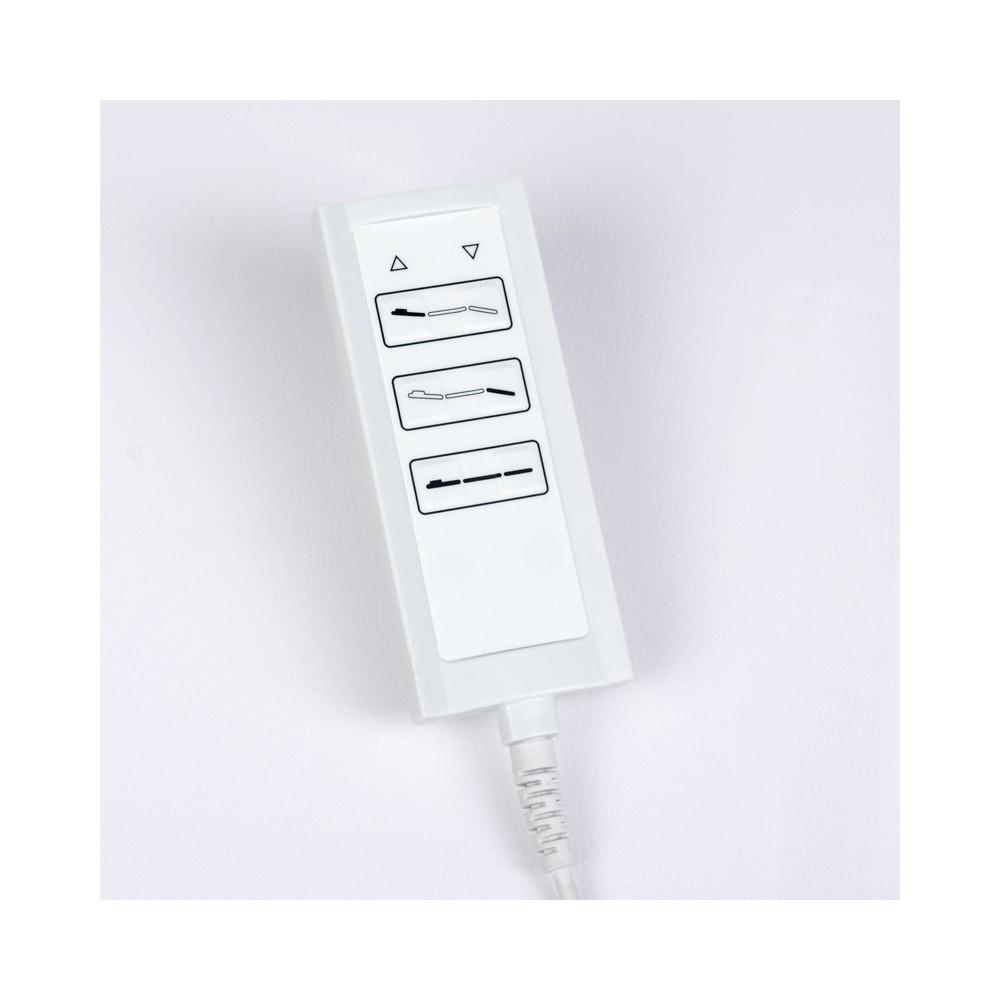 Elektryczna leżanka SPA & Wellness BCH-2009 biała