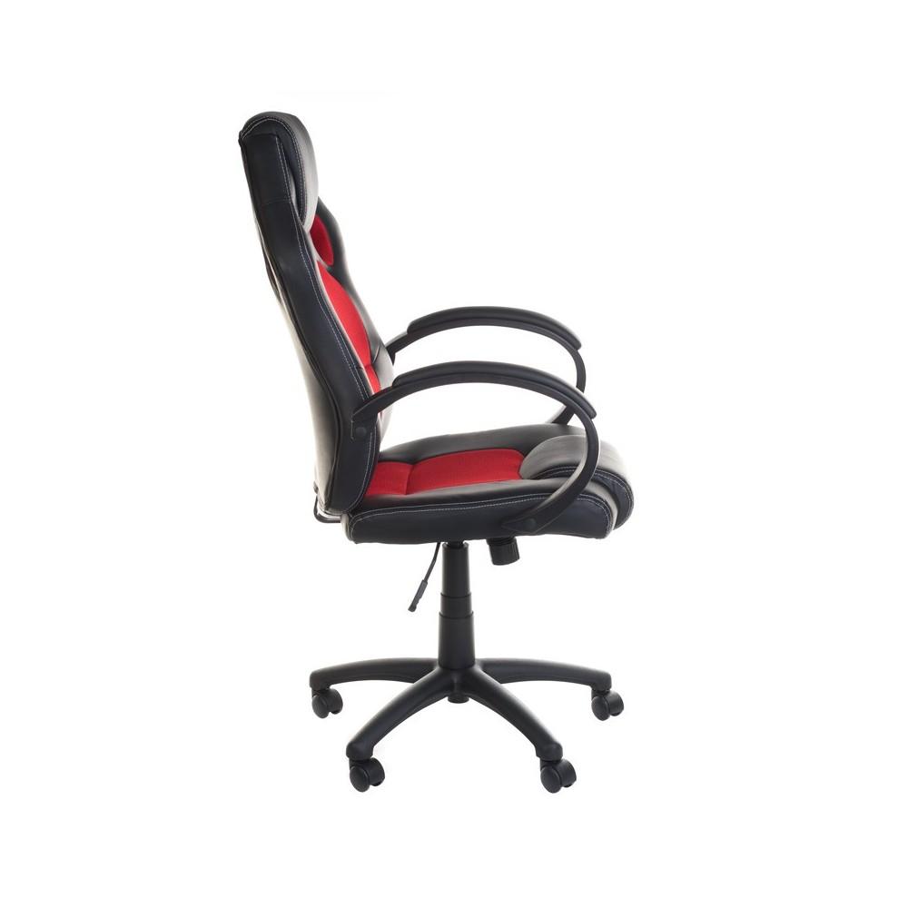 Fotel gamingowy Racer BX-2052 Czerwony