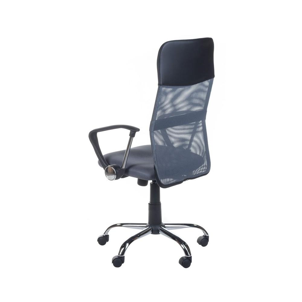 Fotel biurowy BX-7773 Ciemny Szary