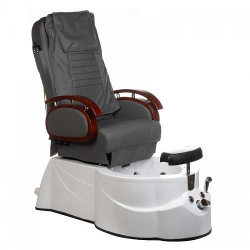 BR-3820D Fotel Pedicure SPA Szary