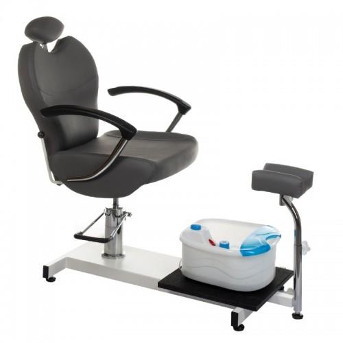 BR-2301 Fotel do pedicure Szary