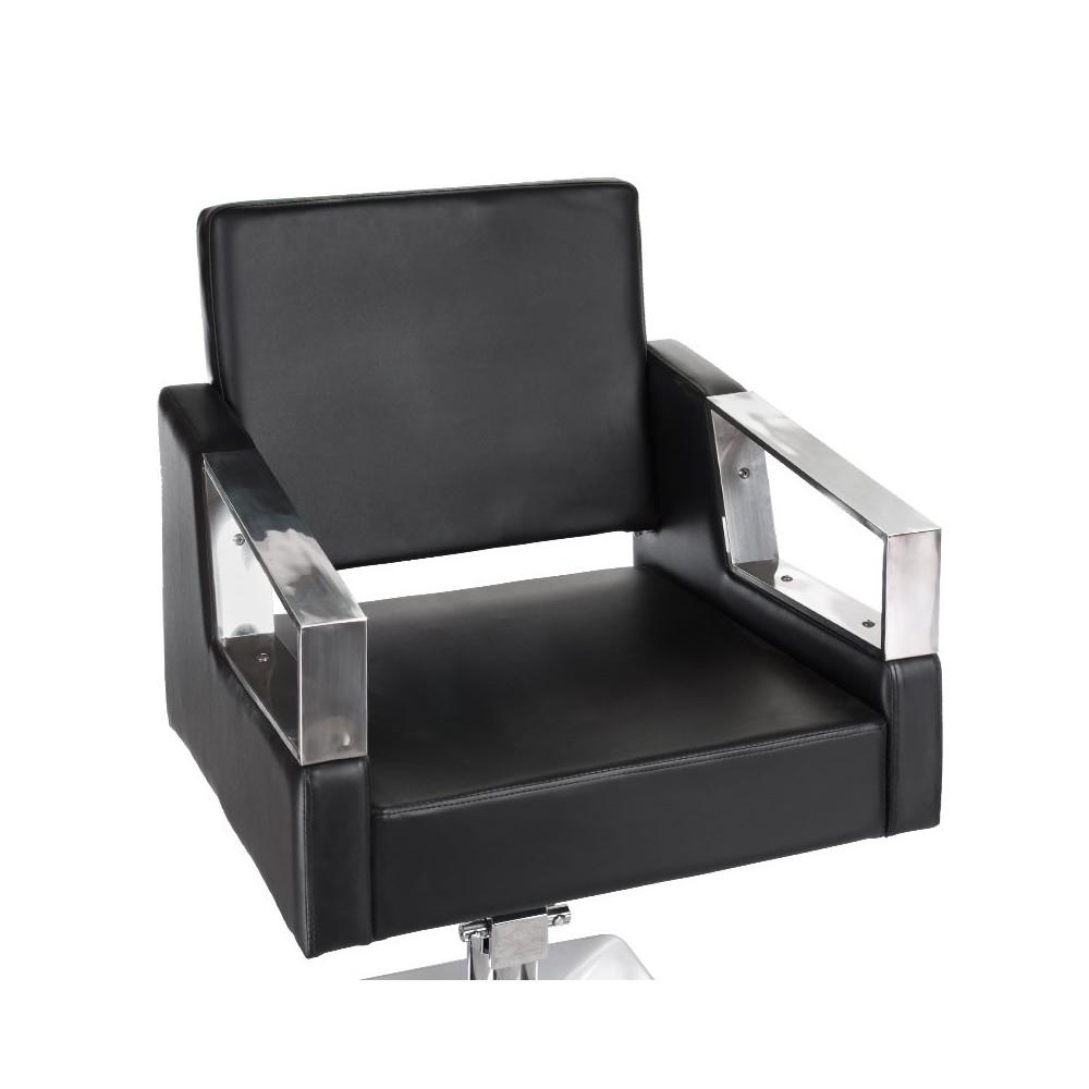 BR-3936A Fotel fryzjerski ARTURO Czarny