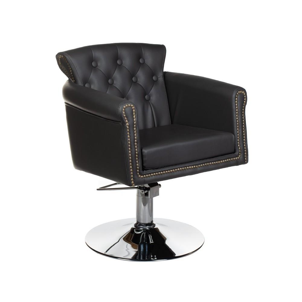 Fotel fryzjerski ALBERTO szary