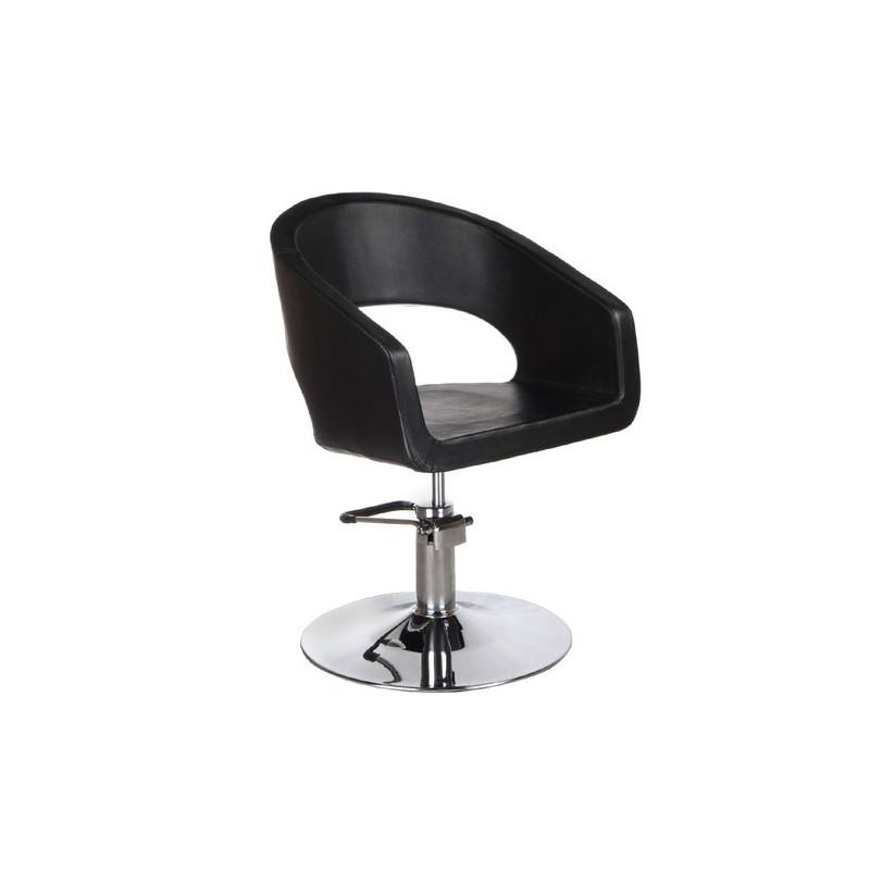 Fotel fryzjerski Paolo czarny
