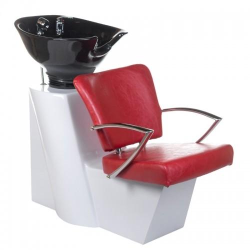 Myjnia fryzjerska LIVIO czerwona
