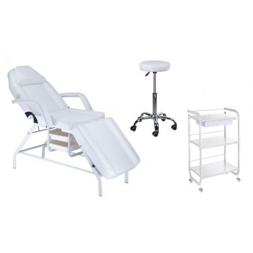 Fotel BW-262 + Taboret BD-9920 + Pomocnik ST027
