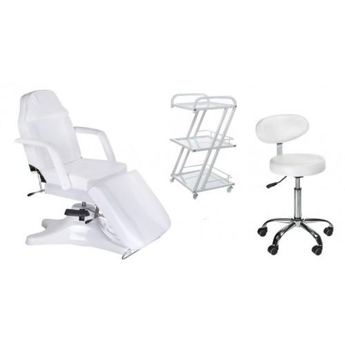 Fotel BD-8222 + Taboret BD-9934 + Pomocnik BD-6005