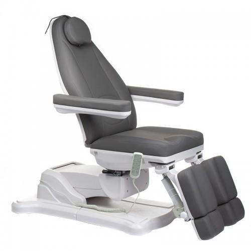 Mazaro BR-6672A Elektryczny fotel kosmetyczny Szary