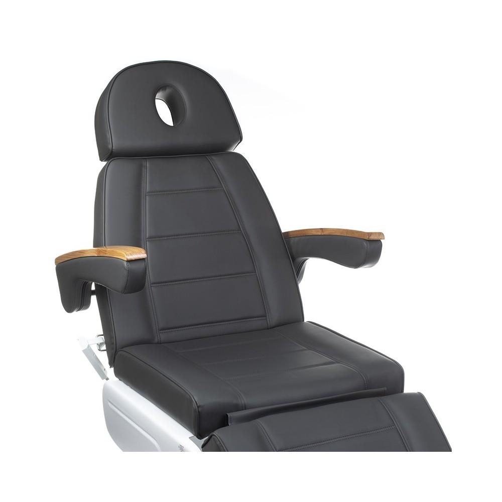 LUX BW-273B Elektryczny fotel kosmetyczny Szary