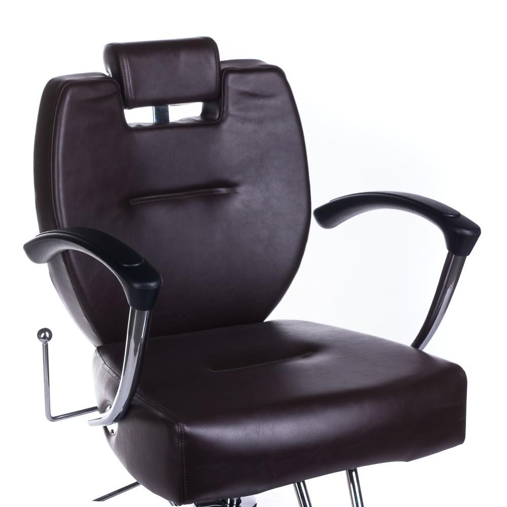 Fotel barberski HEKTOR BH-3208 Brązowy
