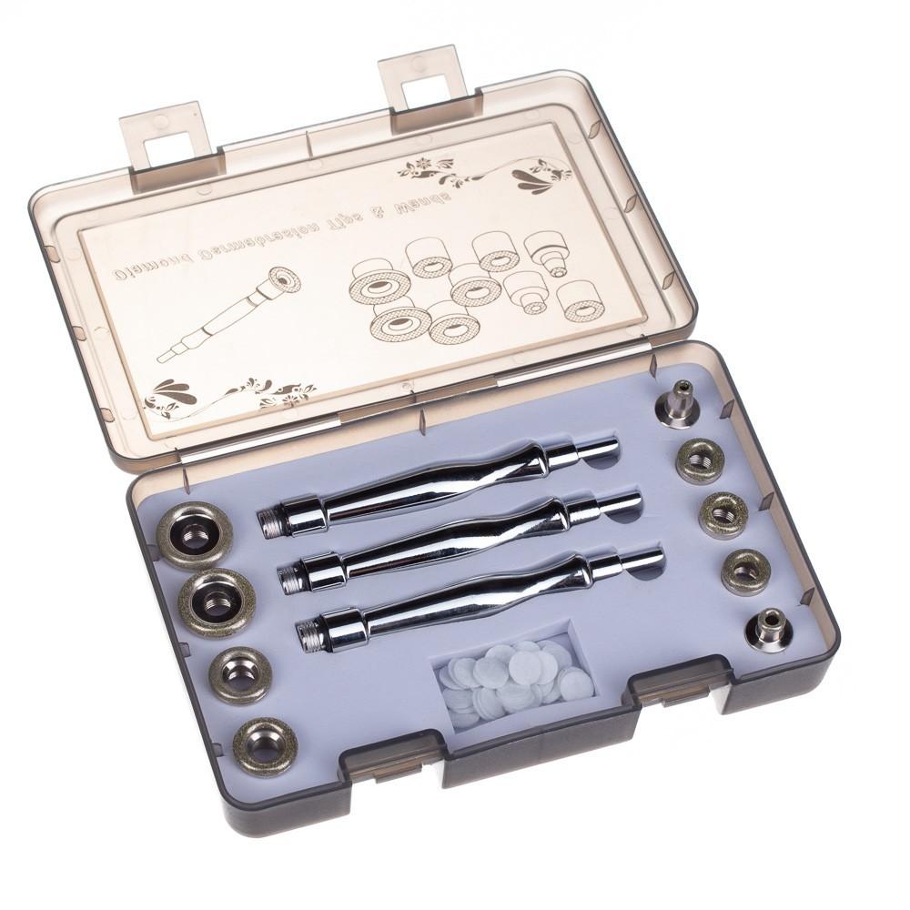 Zestaw piór i końcówek do mikrodermabrazji diamentowej