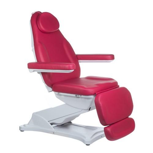 Fotel kosmetyczny MODENA Malinowy