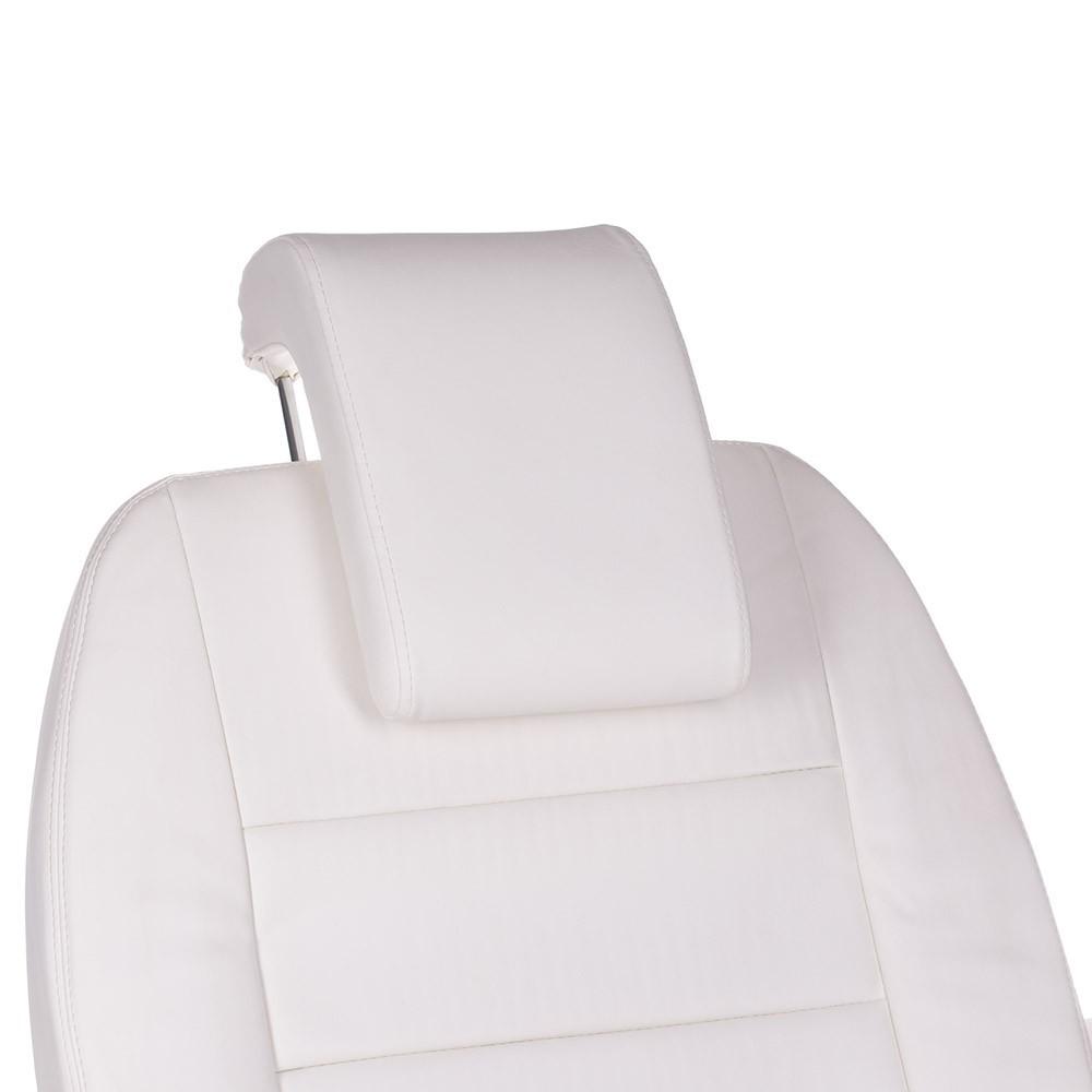 Bologna  BG-228-4 Biały Elektryczny fotel kosmetyczny