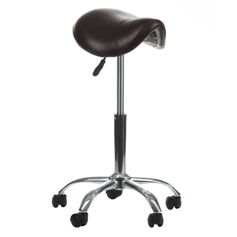BD-9909 Taboret RODEO Brązowy