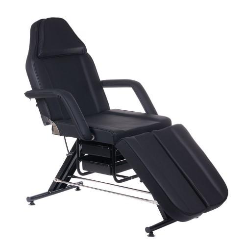 BW-263 Fotel kosmetyczny z kuwetami czarny