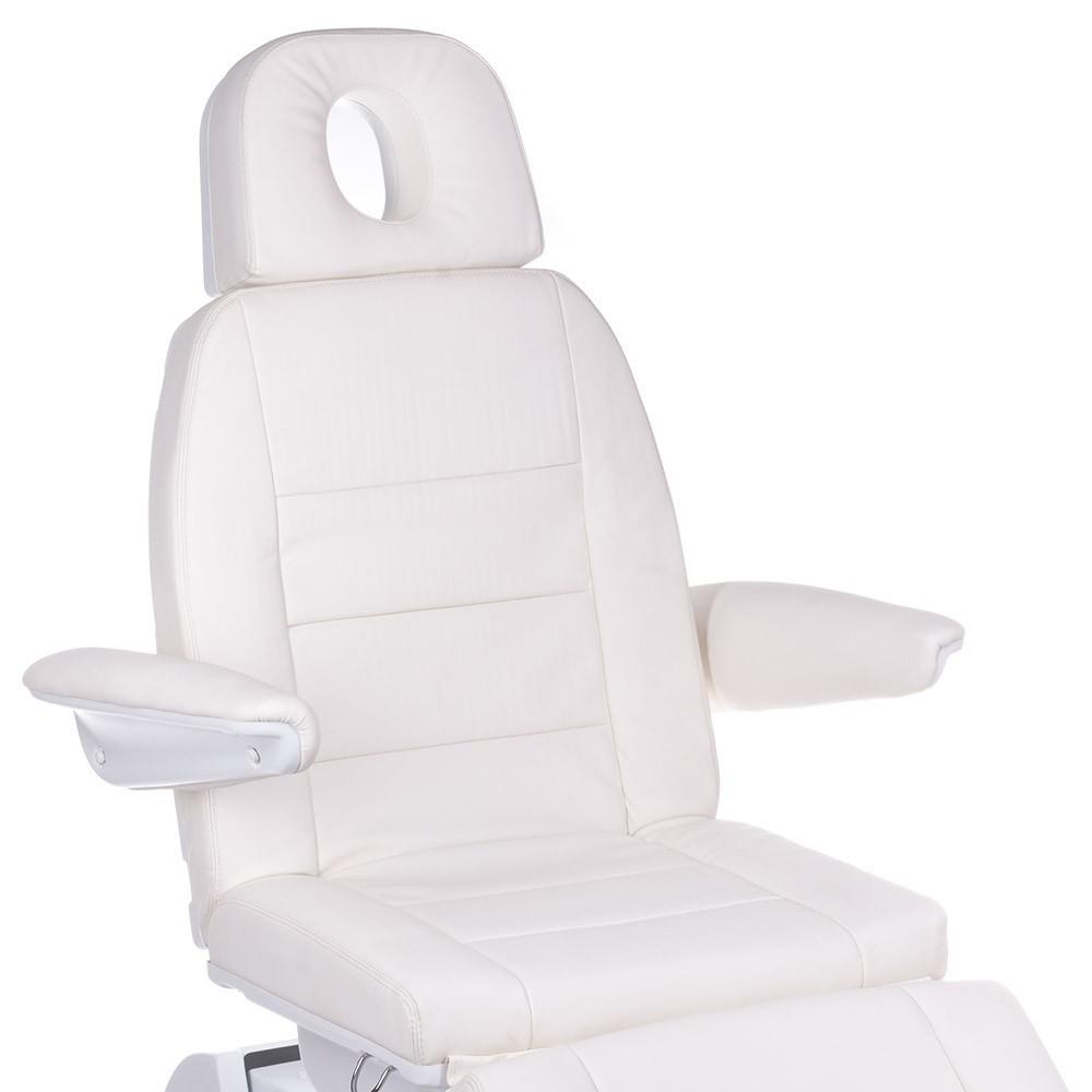 Bologna  BG-228 Biały Elektryczny fotel kosmetyczny