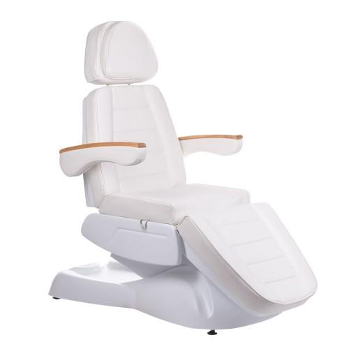 LUX BW-273B-2 Fotel kosmetyczny elektryczny Biały