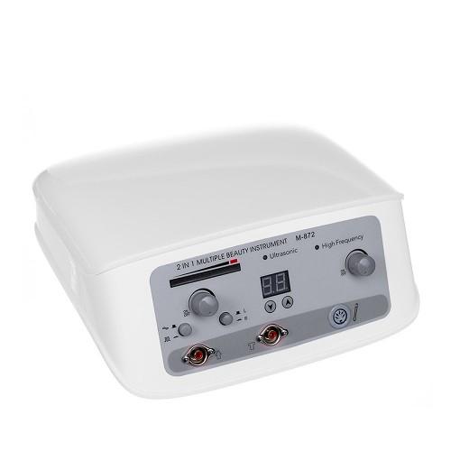 Darsonval + Ultradźwięki 2w1 BR-872 białe