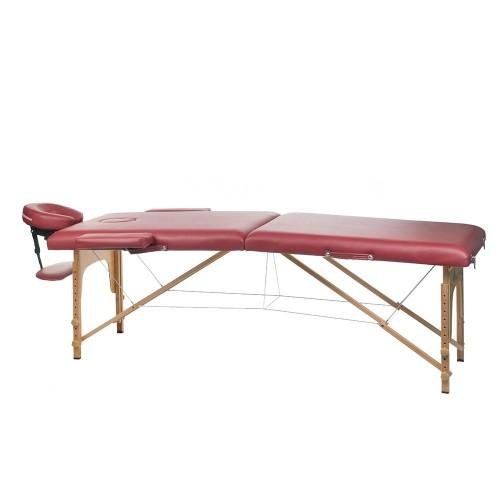 BS-523  Stół do masażu i rehabilitacji Burgund