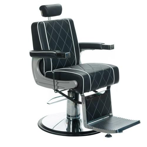 ODYS Fotel barberski Czarny