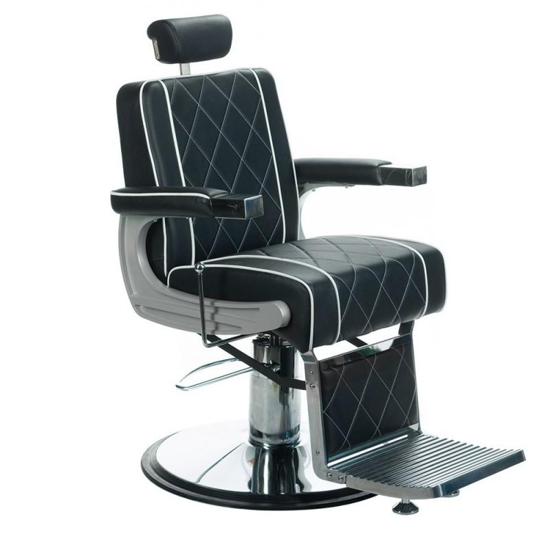 ODYS Fotel barberski burgund