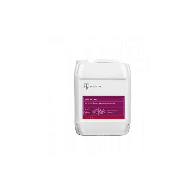 Płyn do mycia i dezynfekcji rąk VELODES Silk 5l