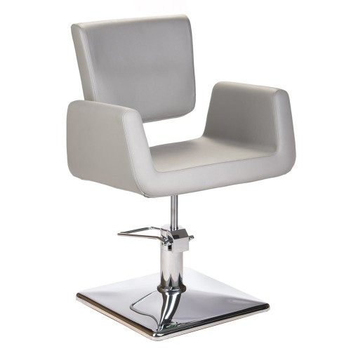 Fotel fryzjerski Vito Jasny Szary