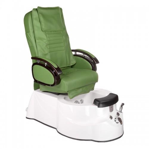 BR-3820D Fotel Pedicure SPA Zielony